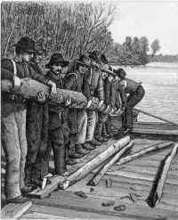 Shipping an oar