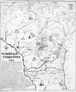 Wisconsin Territory 1836